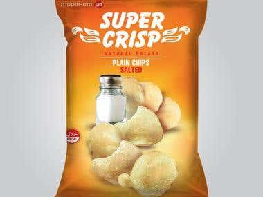 Supercrisp Chips Packaging
