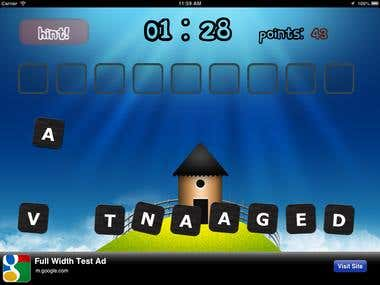 Word Jumbling IPAD Game