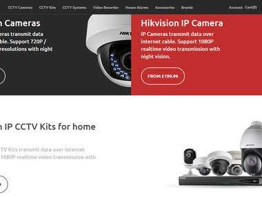 CCTV camera selling site