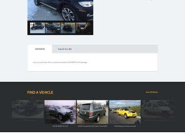 Car Auction Multilingual Website (Cake PHP)
