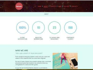 Eplanner Website Pages