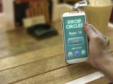 Drop The Circles HTML5 Game
