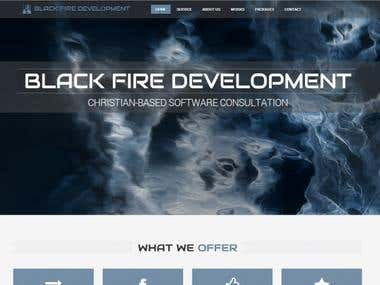 Black Fire Development Company Website