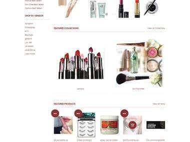 Shopify store Ajmalhm
