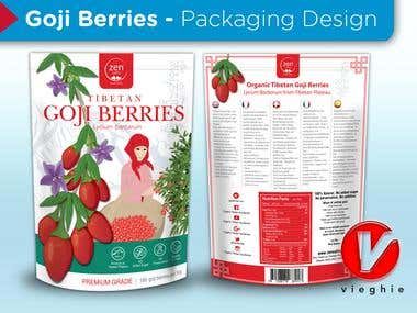 Goji Berries - Packaging Design