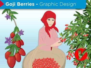 Goji Berries - Graphic Design
