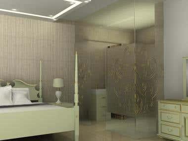 interior design and 3d rendering