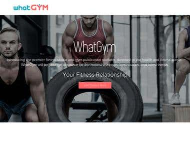Set of applications for a new jersey gym owner entrepreneur