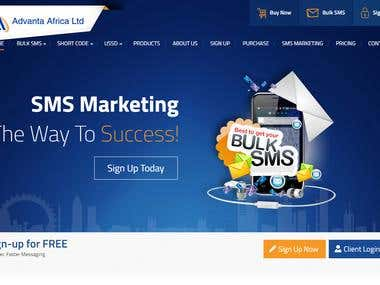 Wordpress CMS Project