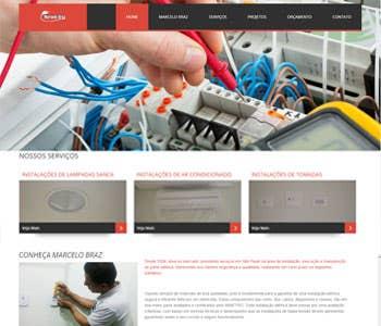 Site Marcelo Braz Eletricista