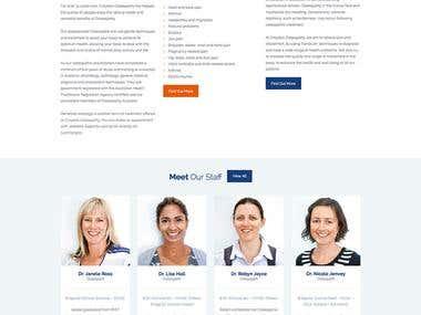 Croydon Osteopathy Website