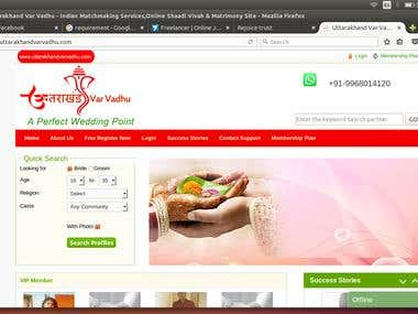 Matrimonials Website