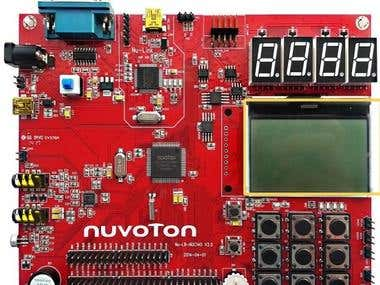 Learning Board Nuvoton (NL-NUC140)