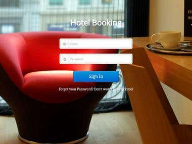 Hotel Booking Application