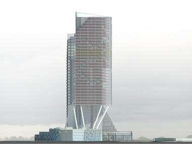 Mix-use Tower, MUMBAI-Maharashtra, India