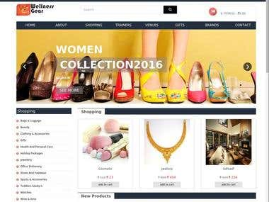 Responsive E-commerce portal
