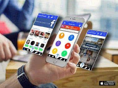 Social Checkin App