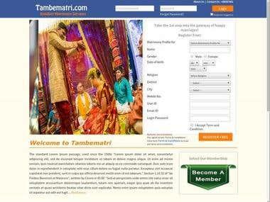 Indian matrimony Portal