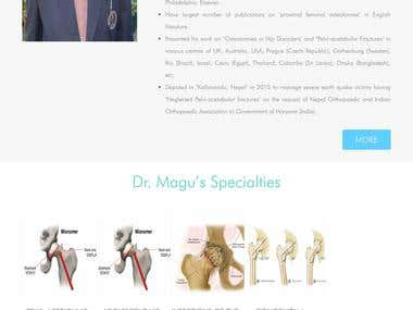 Responsive Doctor Website