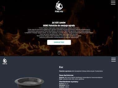 strona www dla FIRE4U