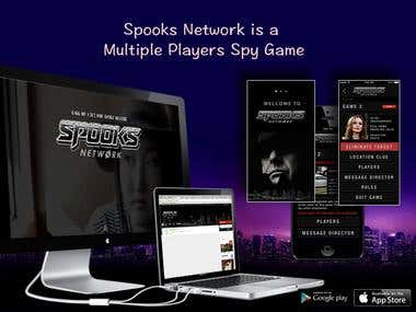 Spooks Network App