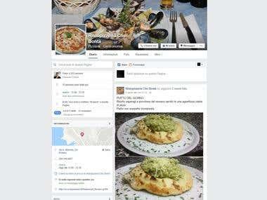 Social Media managing for italian restaurant