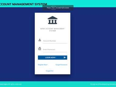 Online Vertual Banking System