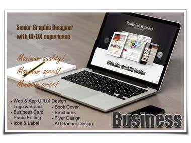 BIZ Website MockUp Design