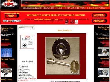 Designed HPC Website