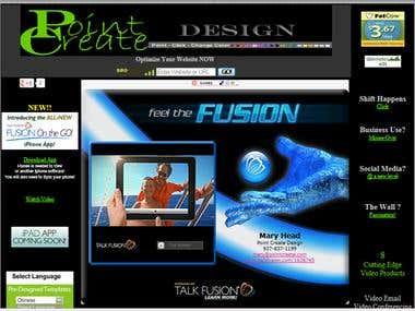 Designed Point Create Design website