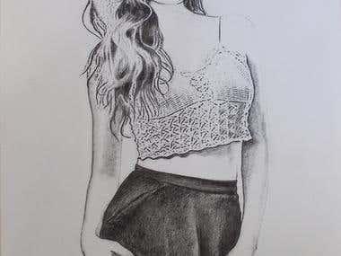 Hand Drawn Realistic Art