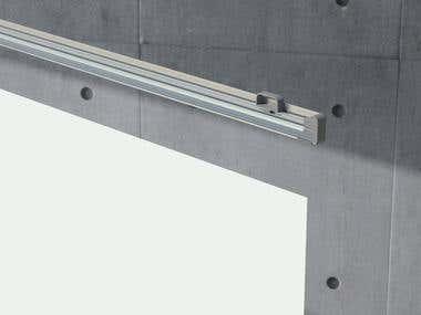 Aluminium profile design.