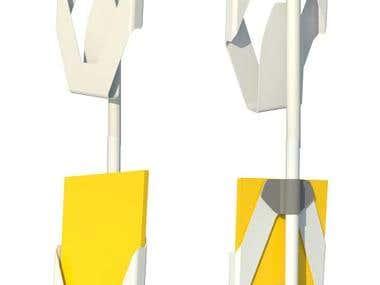 Brochure holder. - Concept Design.