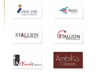 Logos, Brochures & Product Designing