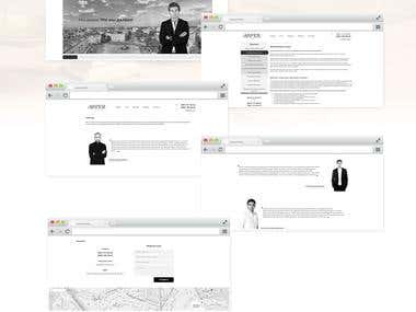 Website for the law firm of ASPER