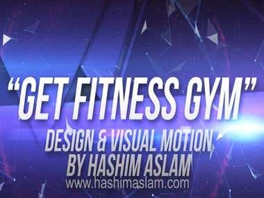 Get Fitness intro design and motion work by Hashim Aslam.
