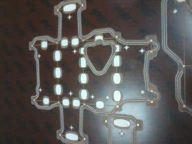 Pertinax Counter plate