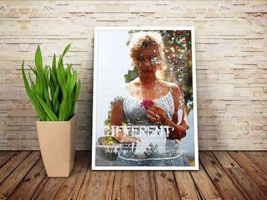 Different Marilyn Poster