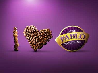 PAPLO Cafe  advertisement design