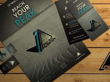 Peak printable materials