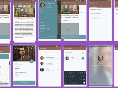 Social Banking App