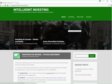 Intelligent Investing Blog