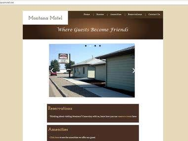 Montana Motel Website