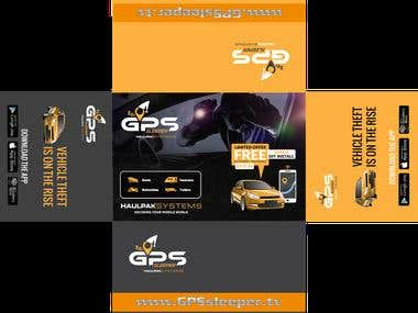 GLS Sleeper packaging design