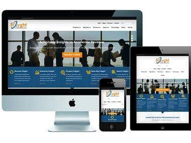 Inxyght Wordpress Website with Bootstrap Framework