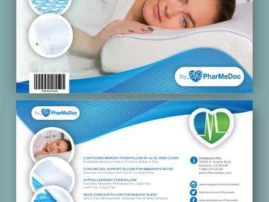 Pillow packaging inserts