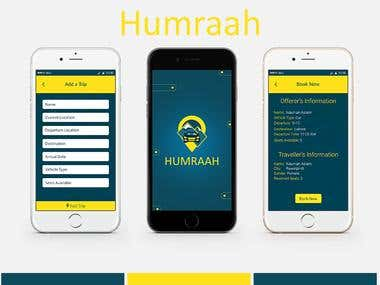 Ride Sharing App - Humraah