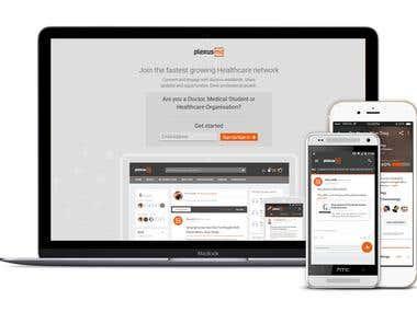 PlexusMD - iOS, Android, Web App