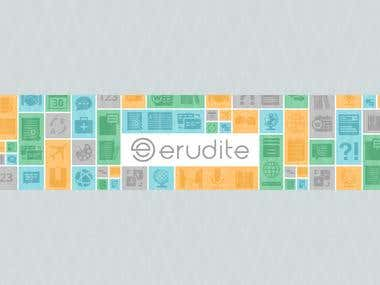 Feature Graphic for Erudite for App Store