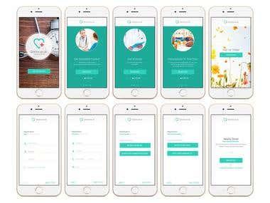 App UI/UX Designing